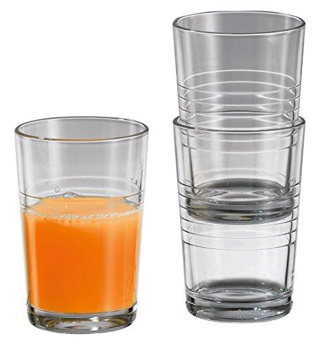 12 x Trinkglas / Saftglas / Wasserglas / Limoglas | Inhalt 240 ml (0,64 ? / Stück)
