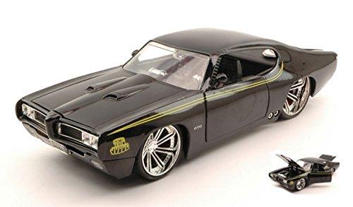 jada-toys-jada90060bk-pontiac-gto-judge-1969-black-124-modellino-die-cast-model