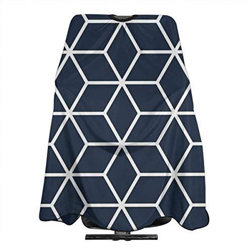 Navy Interlocked Hexagon Lattice Personalized Custom