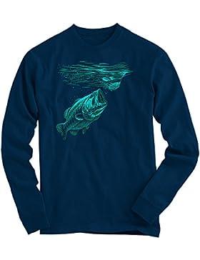 Fishing #1 Sudadera | Hombre | Fish | Fishing | Salmon | Fisherman | Rod |Sweater
