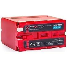 BAXXTAR PRO ENERGY batería para Sony NP-F990 (genuino 10400mAh)