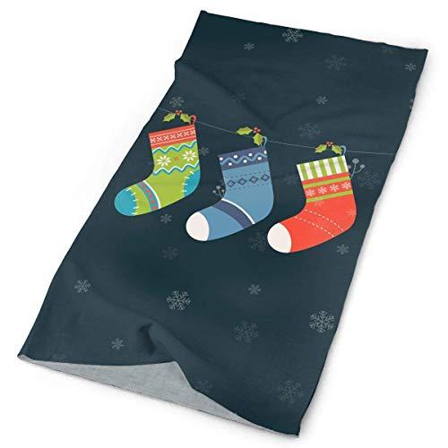Qinckon Christmas Tree Socks Unisex Sport Scarf Headbands Bandana Outdoor Sweatband Headwear Lacer Farm