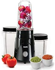 Glen Plastic 4048 Active Nutri Blender Grinder, 350 W (1655768761, Black)