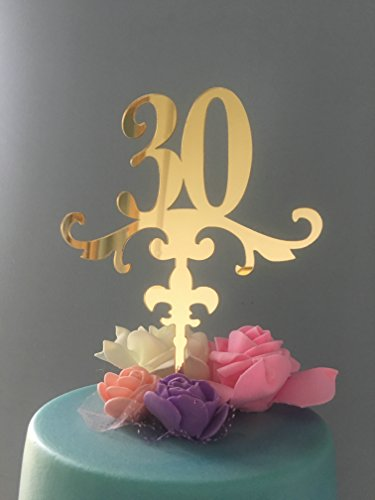 ShinyBeauty 30 Cake Topper für 30th (Namen Disney Der Prinzessinnen Liste)
