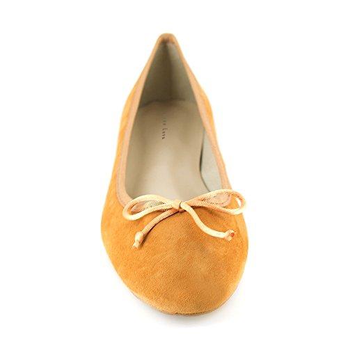 Loca Lova Ballerine Cuir Orange LL225 Orange