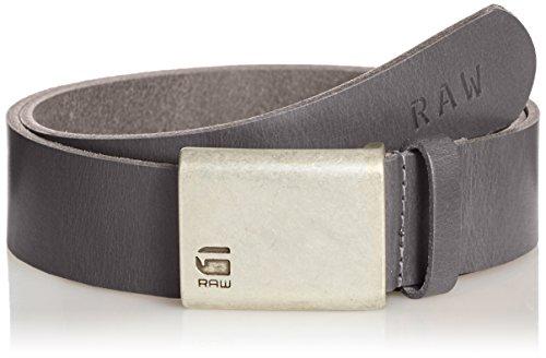 G-STAR RAW Barran Belt, Cintura Uomo, Grigio (Gs Grey 1260), 105 cm (Taglia Produttore: 105 Cm)