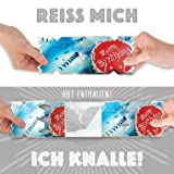 Happy Birthday - Cracker Cards - Die Karte mit dem Knall