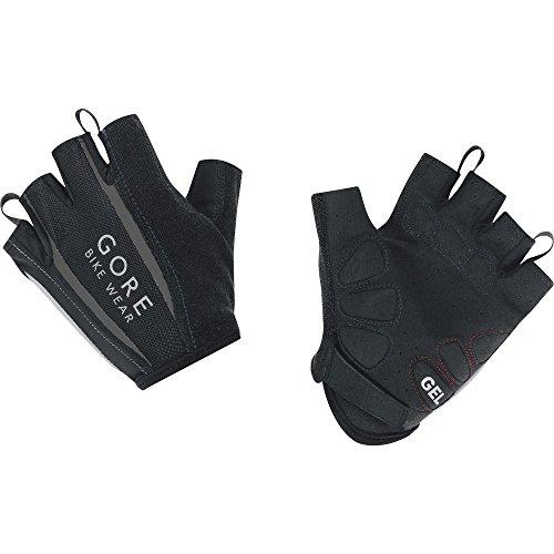 GORE BIKE Wear Herren Kurzfinger-Rennrad -Handschuhe, Atmungsaktiv, GORE Selected Fabrics, POWER 2.0 Gloves, Größe 8, Schwarz, GSPOWE
