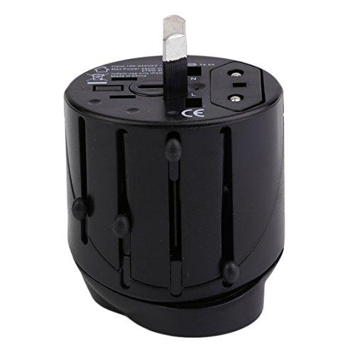 Universal Multifunktionale Professionelle Globale Umwandlung Buchse Stecker Adapter USB Port World Travel AC Power Ladegerät Adapter