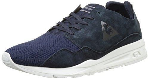 Le Coq Sportif Unisex-Erwachsene LCS R Pure Mono Luxe Sneakers, Blau (Dress Blue), 40 - Luxus-sneakers