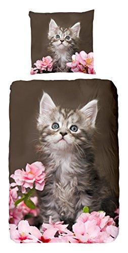 Good morning Katzenbettwäsche 100 Prozent Baumwolle 5128-P