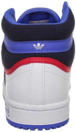 adidas Originals Topten Hi K, Baskets mode mixte enfant Blanc (White Ftw/Bluebird)