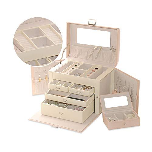 Schmuck Aufbewahrungsbox Frauen Schlafzimmer Aufbewahrungsbox 3 Schubladen Schmuck Aufbewahrungsbox Kosmetik Aufbewahrungstasche Armband Ohrringe Ring Sarg Box Aufbewahrungsbox Schmuck Vitrine