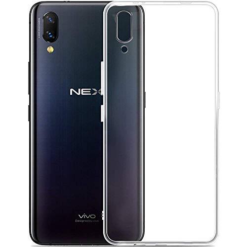 PaceBid Vivo NEX/Vivo NEX S/Vivo NEX A Hülle Case, Crystal Clear Transparent Handyhülle Cover Soft Premium TPU Durchsichtige Schutzhülle für Vivo NEX/Vivo NEX S/Vivo NEX A