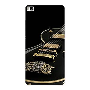 Delighted Music Guitar Back Case Cover for Huawei P8