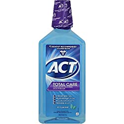 ACT Total Care Icy Clean Mint Anticavity Fluoride Mouthwash, 33.8 oz
