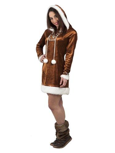 Eskimo Frau Kostüm - Boland NEU Damen-Kostüm Eskimo-Frau, Gr. 36-38