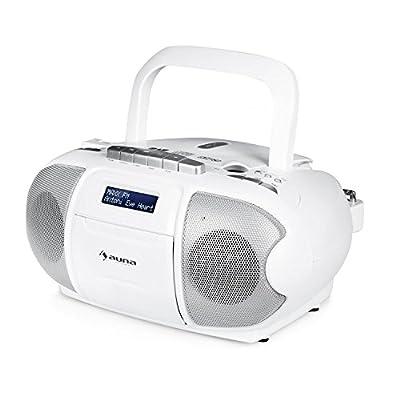 Auna BeeBerry Boom Box Ghettoblaster Radio FM par auna