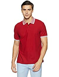 Arrow Sports Men's Solid Regular Fit Polo