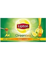 Lipton Honey Lemon Green Tea Bags, 25 Tea Bags