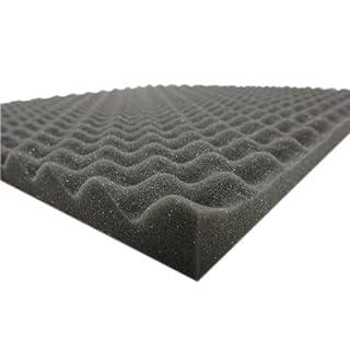 Noppenschaumstoff (ca.100cm x 50cm x 3cm) Akustik Schaumstoff Dämmung