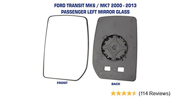 FORD TRANSIT CARGO 2000 DOOR WING MIRROR GLASS RIGHT