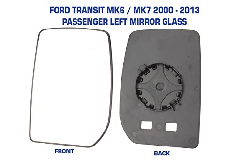 Mirror Glass Manual Not Heated Passenger Side