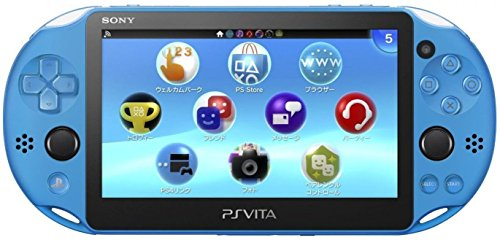 Sony Playstation Vita - PS Vita - New Slim Model - PCH-2006 (Aqua Blue)