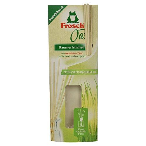 Frosch Oase Raumerfrischer Zitronengrasfrische Nachfüllpack, 90 ml