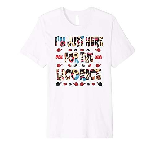 r das Lakritz Lustige Süßigkeiten T-Shirt ()