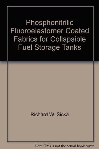 Phosphonitrilic Fluoroelastomer Coated Fabrics for Collapsible Fuel Storage Tanks -