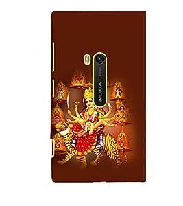 printtech Shera Wali Mata Goddess Back Case Cover for Nokia Lumia 920::Microsoft Lumia 920