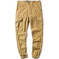 Moda casual hombres es día estilo, haren pantalones hombres pantalones casuales,Khaki,Treinta y cuatro