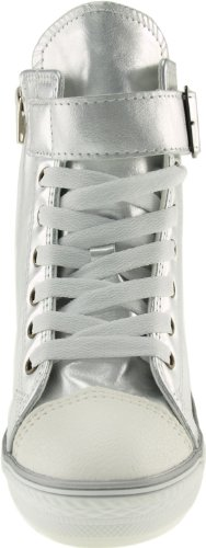 Maxstar  777-1Band, Chaussons montants femme Argent - TC-Silver