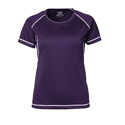 ID - T-shirt sport à coutures plates - Femme Cyan