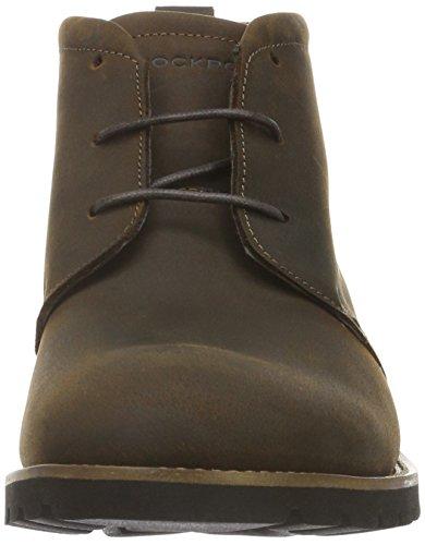 Rockport Herren Sharp & Ready Charson Chukka Boots Braun (Dk Brown)