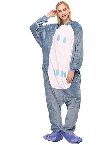 ShiyiUP Tier Schlafanzug Lustig Jumpsuit Cosplay Kostüm Overall Halloween Erwaschene Damen Herren Koala(Ohne Schuhe) (M, ()