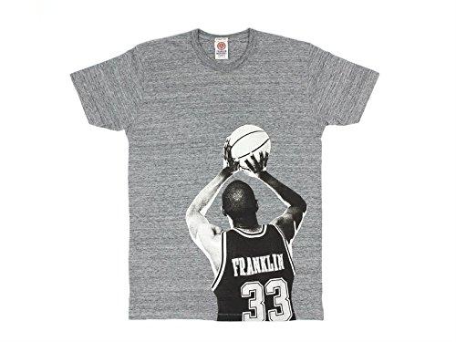 T-shirt a maniche corte Bibi Grigio Franklin&Marshall L Uomo