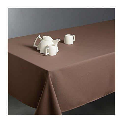 Nappe anti-tache rectangulaire taupe 150x300 cm