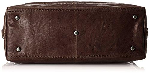 Spikes & Sparrow Unisex-Erwachsene Henkeltaschen, 42 x 25 x 16 cm Braun (dark brown 059)