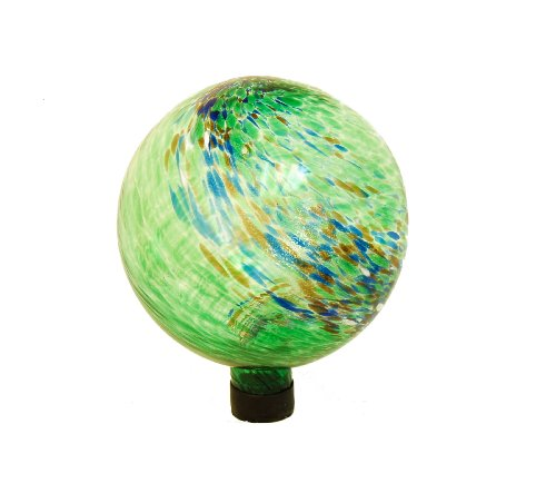Echo Valley 8140 dekorativer Globus, 25,4cm, leuchtet im Dunkeln, Green Swirl, 10-Inch