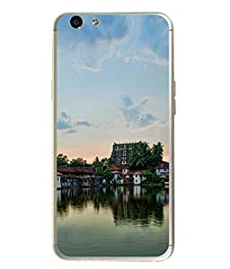 PrintVisa Designer Back Case Cover for Oppo F1s (Lovely South Indian Village)