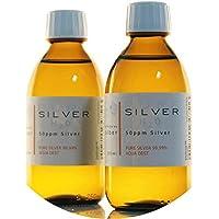 PureSilverH2O 500ml kolloidales Silber (2X 250ml / 50ppm) - Reinheit & Qualität seit 2012 preisvergleich bei billige-tabletten.eu