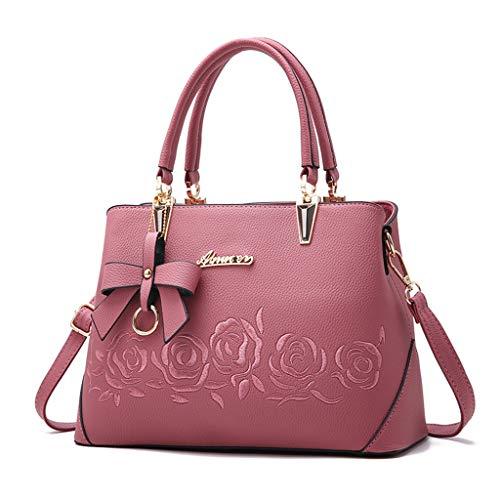 ➤Refill➤Damen Handtaschen Schulterbeutel, Damen Handtaschen groß Taschen Leder Moderne Damen Handtasche Gross Schultertasche Frauen Taschen Umhängetasche