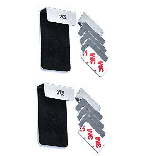 HCP Edelstahl zahnbürstenhalter Wand-montierte zahnpasta vorrichtung Wasch-dental-sitz Regal lagerung rack-B