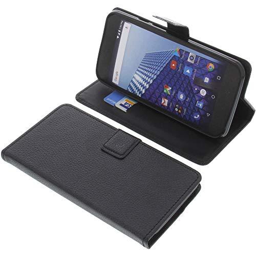 foto-kontor Tasche für Archos Access 55 3G Book Style schwarz Schutz Hülle Buch