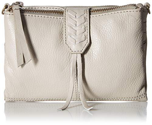 Lucky Brand Damen Convertible Wallet Bernstein (Amber), wendbare Geldbörse, Chinchilla/ 062, Einheitsgröße - Bernstein-leder-geldbörse