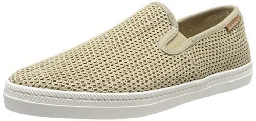 GANT Footwear Herren FRANK Slip On Sneaker, Beige (Dark Khaki G772), 43 EU Herren Schuhe Slip-ons