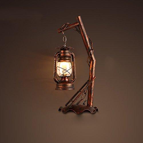 GUONachttischlampe Moderne cálido Nacht Beleuchtung Home / Büro Decor Schreibtischlampe Ständer Lampen fürIndustrial Typhoon Light...