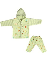 LK Vyapaar Pvt Ltd Unisex Cotton Winter Wear 2 Piece Hoodies (FIT-P405-WINT-HOOD-PINK-XL-46_12 - 18 Months)